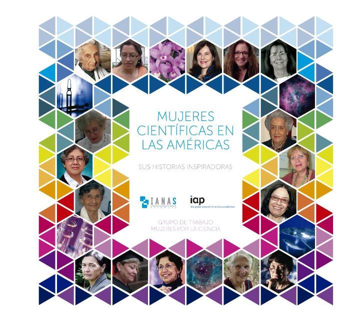 """libro """"Mujeres científicas en las Américas. Sus historias inspiradoras"""""""